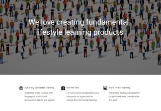 learningonline.xyz Homepage Screenshot