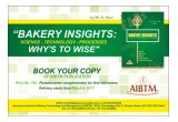 "A Compressive book on ""Bakery Insight: Science-Technology -Processes  Why's to Wise"