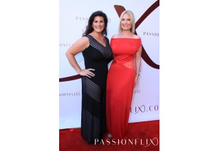 NY Times Bestselling Author K. Bromberg and Passionflix Founder/Producer and Director Tosca Musk Attend Passionflix's 'Driven' World Premiere