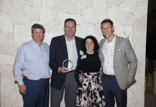 Team from Hughes Enterprises presented with elite award