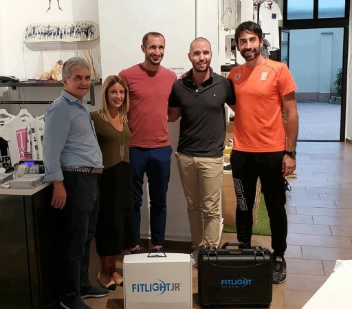 FITLIGHT™ Announces Partnership With Insuperabili Charity Supported by Soccer Player, Giorgio Chiellini