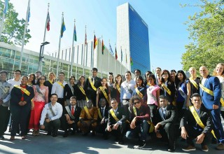 Youth delegates and ambassadors