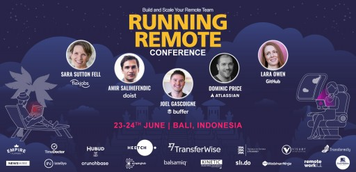 Remote Work Leaders Gather in Bali June 23-24 for Running Remote, the Largest-Ever Conference on Distributed Teams