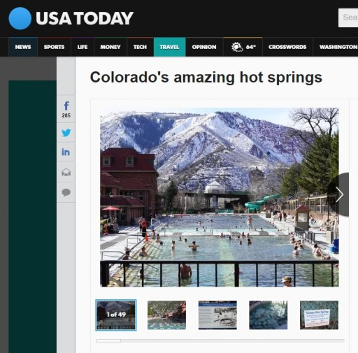 USA Today photo gallery: Colorado's Amazing Hot Springs