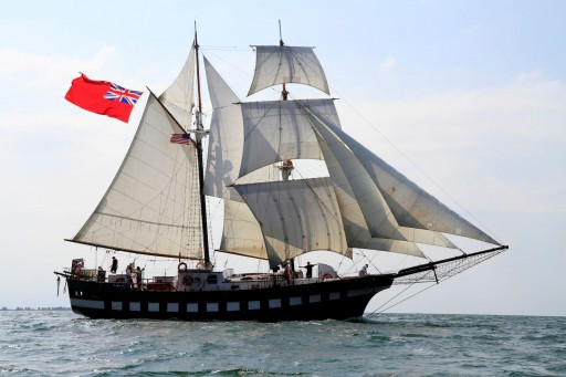 Home-Built Ship Sails to Lake Erie for Tall Ships Erie 2019