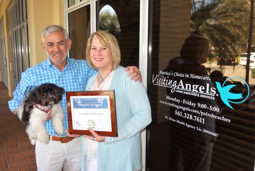 Visiting Angels of the Palm Beaches Receives 2018 Best of Home Care Provider Award