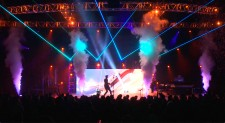 Live Special Effects, lasers, fog, fill Easter shows with high-energy