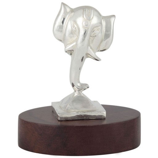 Ganesha Statue Holz