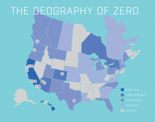 The Geography of Zero