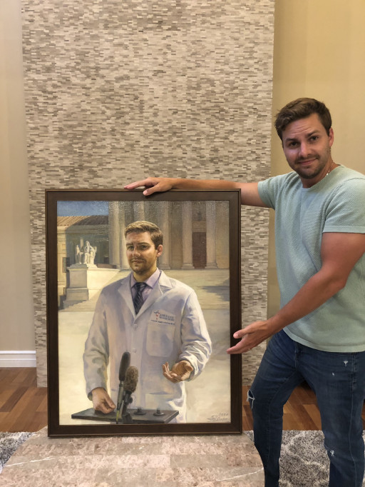 Heroes Not Forgotten: Artists From MadeMay Provide Free Portrait Paintings to Healthcare Workers