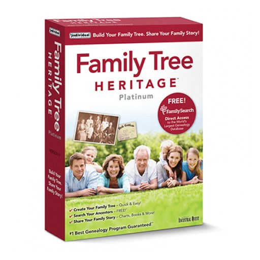 Family Tree Maker Users Can Save Trees, Charts & Research With Family Tree Heritage!