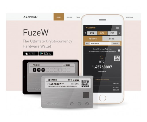 Introducing FuzeW: BrilliantTS' Cryptocurrency Wallet Released