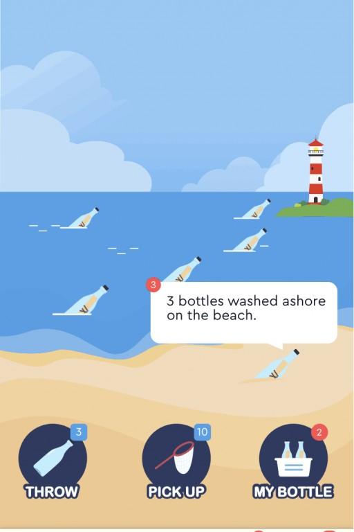 Positive Singles iOS App Optimizes Bottle Drift Feature