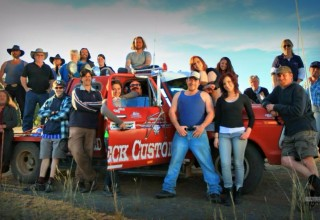 Cast and Crew of 'There's Something in the Pilliga'