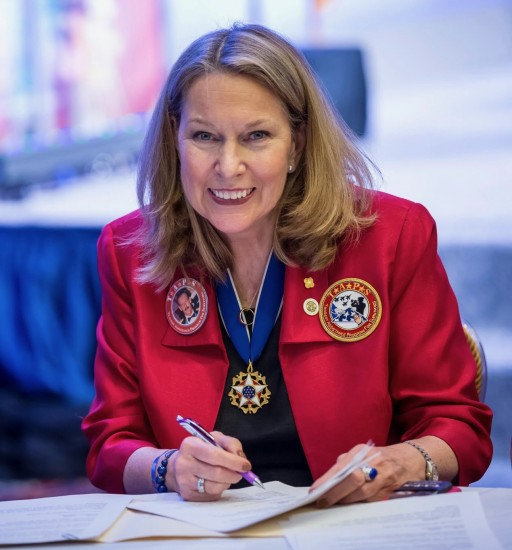 America's Warrior Partnership Honors TAPS Founder Bonnie Carroll With Fifth Annual Leo K. Thorsness Leadership Award