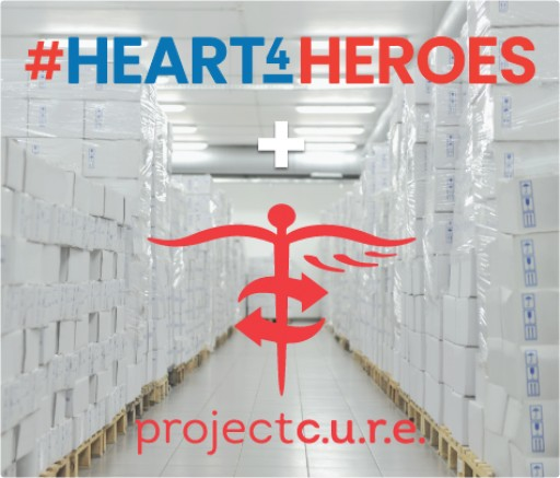 Project C.U.R.E. Joins #Heart4Heroes to Support Healthcare Workers in Rural America