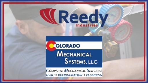 Reedy Industries and Centennial, Colorado's Colorado Mechanical Systems Cement Partnership