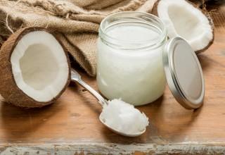 Coconut Oil Concept