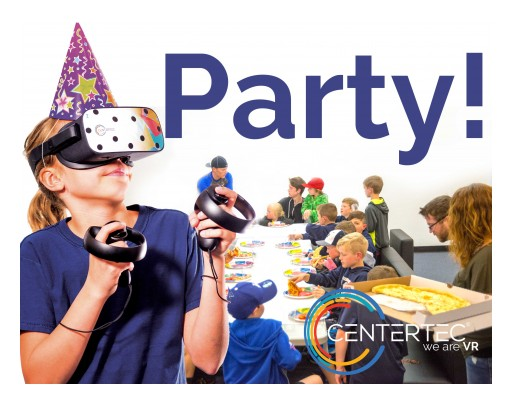Virtual Reality Birthday Parties Are Taking Off at Centertec