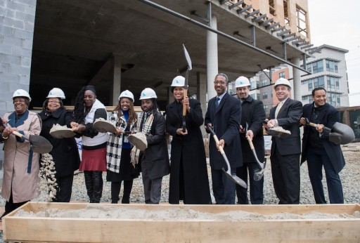 DC Mayor Headlines Groundbreaking for Good Food Markets at South Capitol Apartments