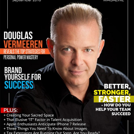 Douglas Vermeeren's Personal Power Mastery  Featured on Soar to Success