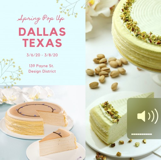 Lady M Cake Boutique Pop-Up in Dallas, Texas!