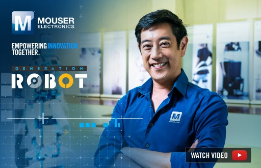 Mouser Electronics and Grant Imahara Explore Forefront of Cybernetics in New 'Generation Robot' Video