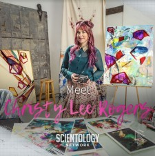 Meet a Scientologist: Renowned artist Christy Lee Rogers