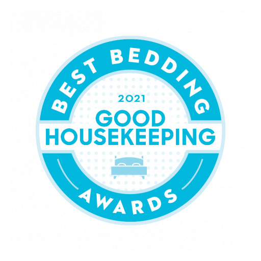 One Bed Wins Good Housekeeping 2021 Best Bedding Award