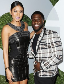 Kevin Hart and Wife