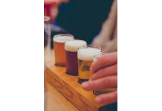 Beer tasting in Pagosa Springs, Colorado