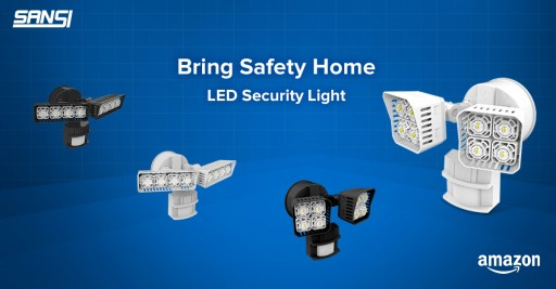 SANSI LED Security Motion Sensor Outdoor Lights Bring Safety Back to the Home
