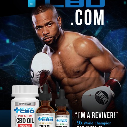9x World Champion Boxer and HBO Host, Roy Jones Jr., Credits Reviver CBD Oil With Massive Gains at 50, Contemplates Competitive Boxing Return at 50
