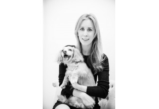 Holly Simpson and her dachshund puppy Teddy