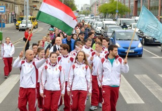 Setting off to run across Hungary