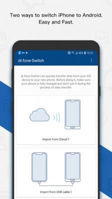dr.fone - Switch App