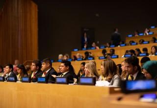 Youth delegates and ambassadors