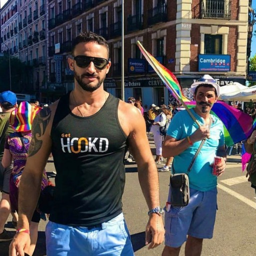 Gay Icon Eliad Cohen and His Papa Party Line Partner With HOOKD, the New Gay Dating App