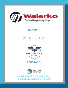 Walerko Tool & Engineering Corporation Tombstone