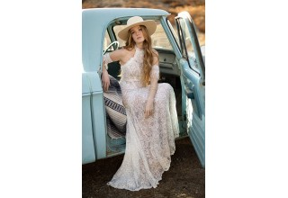 New Wedding Dresses from Bohemian Designer All Who Wander