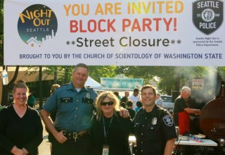 National Night Out 2017 at the Church of Scientology Seattle