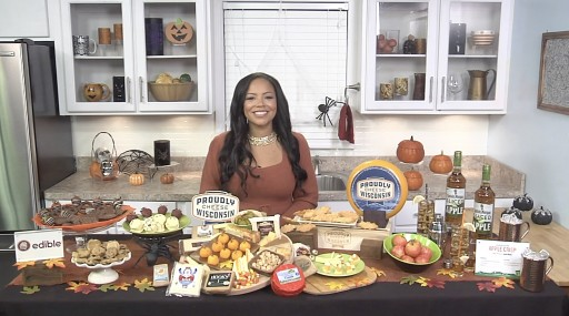 Lauren Makk Shares Festive Ideas for Halloween with Tips On TV