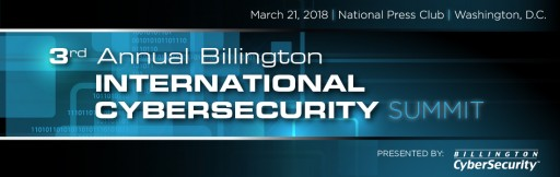 Singapore Cyber Chief Receives Billington CyberSecurity International Leadership Award