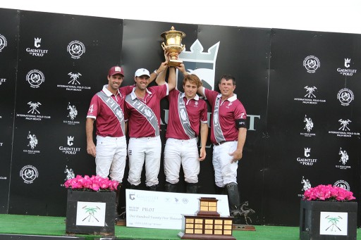 Pilot Polo Team Becomes the First Team Ever to Compete for the Prestigious Gauntlet of Polo and $1 Million Purse