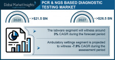 PCR- and NGS-based Diagnostic Testing Market Growth Predicted at -0.2% Through 2027: GMI