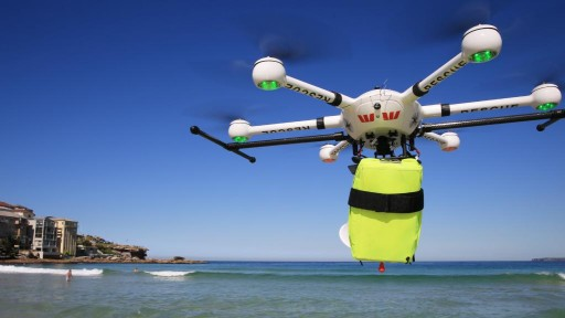 JTT Industrial Drone is Guarding the Coast of Australia, Protecting People From Shark Attacks