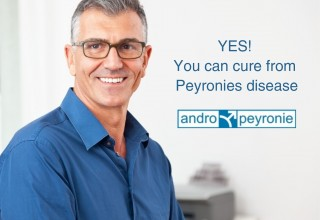 Andropeyronie can cure Peyronie's disease
