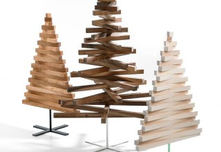 Different wood, sizes, and stands.