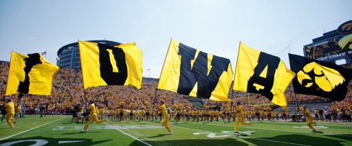 The Tigerhawk is Back at Kinnick Stadium on FieldTurf