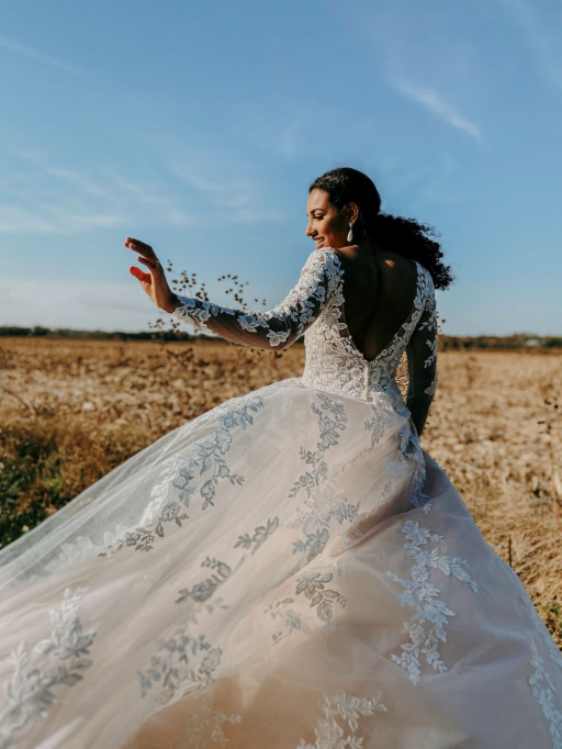 Affordable Wedding Dress Label Stella York Gives Brides a New Glow